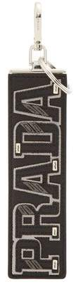 Prada - Saffiano Leather Logo Letter Appliqué Key Ring - Mens - Multi