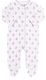 Barneys New York Infants' Lion-Print Footed Coverall-Pink