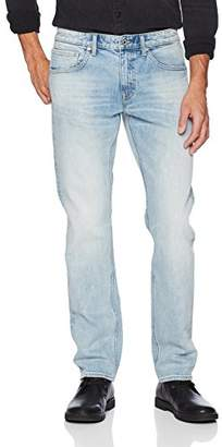 Denim Garage Classics Men's Relaxed Straight Leg Stretch Jean 28X36