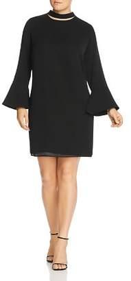 Glamorous CURVY Mock Neck Cutout Dress