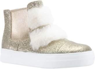 Nina Helen Faux Fur Bootie Sneaker