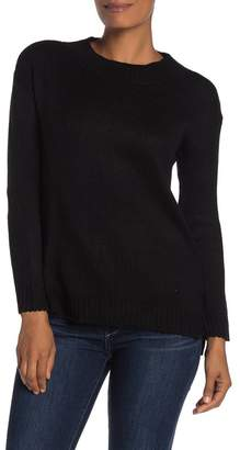 Cotton Emporium Solid Pullover High/Low Sweater