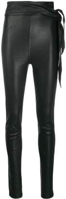 J Brand belted leggings