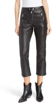 Etoile Isabel Marant Aya Leather Pants