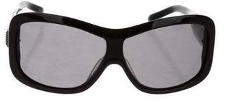 Givenchy Oversize Logo Sunglasses