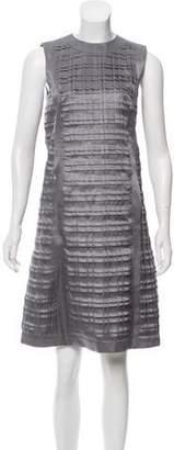Thom Browne Silk Pleated Dress
