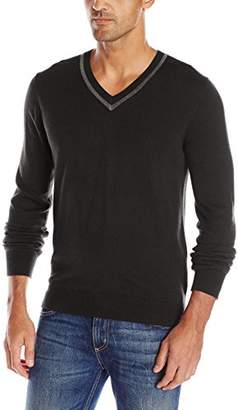 AXIST Men's Long Sleeve V-Neck Sweater