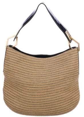 Eric Javits Metallic Squishee Shoulder Bag