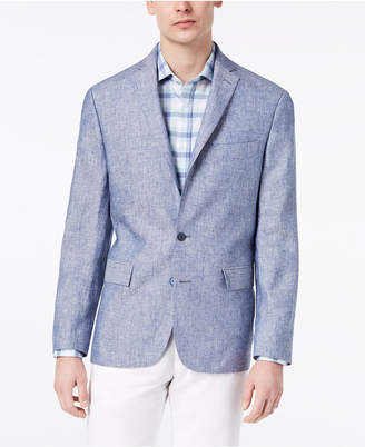 Ryan Seacrest Distinction Closeout! Men's Modern-Fit Solid Linen Sport Coat