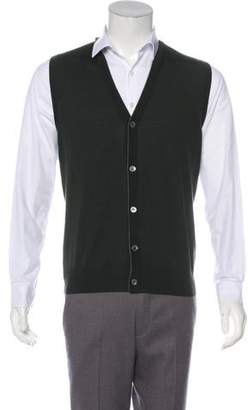 Isaia Merino Wool Sweater Vest