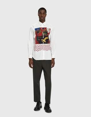 Comme des Garcons Basquiat Printed Shirt in Print B