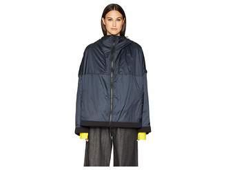 Yohji Yamamoto Padded Hooded Jacket