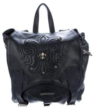 Chrome Hearts Hearts Leather Backpack