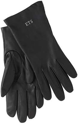 J.Crew Cashmere-lined leather tech gloves