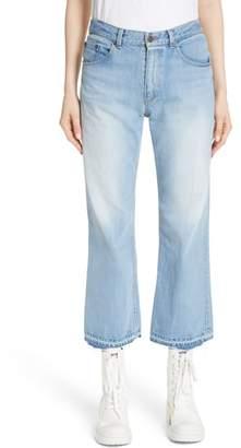 Marc Jacobs Logo Patch Crop Jeans
