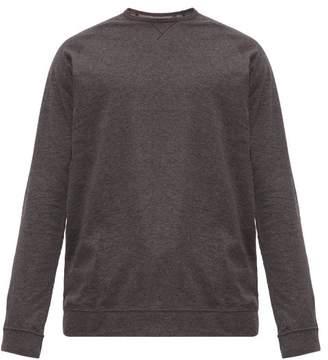 Paul Smith Logo Tab Cotton Jersey Pyjama Top - Mens - Dark Grey
