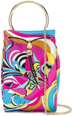 Emilio Pucci Multicoloured Merida Print Elsie Bag