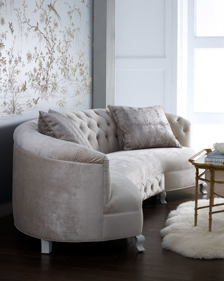 Haute House Monroe Tufted Sofa 114""