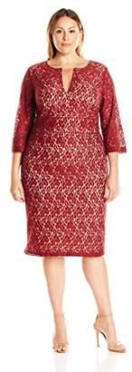 Single Dress Women's Plus Size Lace Meg $14.10 thestylecure.com