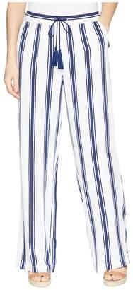 BB Dakota Gove Striped Wide Leg Pants Women's Casual Pants