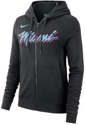Nike Women Miami Heat City Edition Full-Zip Hoodie