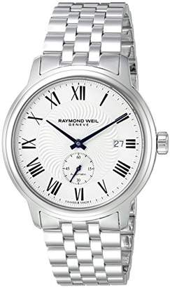 Raymond Weil Men's 'Maestro' Swiss Automatic Stainless Steel Casual Watch