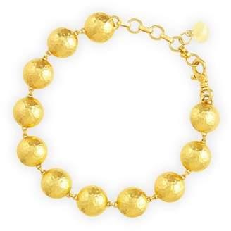 Gurhan Lentil 24k Gold Bracelet