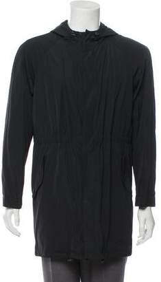 Giorgio Armani Hooded Lightweight Jacket w/ Tags