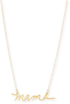 Brevity Mama Small Pendant Necklace