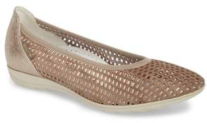 Mephisto Evelyne Perforated Flat