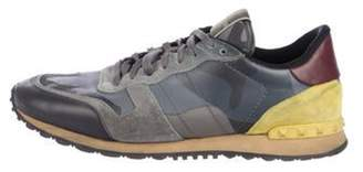 Valentino Camubutterfly Rockrunner Sneakers grey Camubutterfly Rockrunner Sneakers