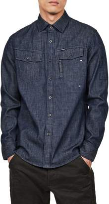 G Star Raw Citishield Slim-Fit Denim Shirt