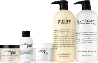 philosophy smooth merry & bright 4-piece skincare kit