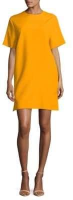 MSGM Short-Sleeve Mini Dress