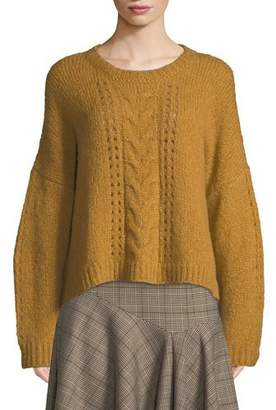 Nanette Lepore Perfect Baby Alpaca/Wool Pullover Sweater