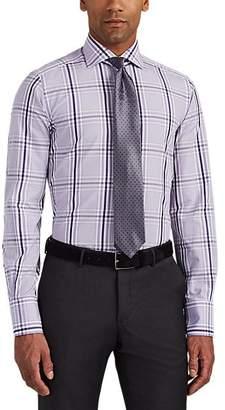 Tom Ford MEN'S CHECKED COTTON POPLIN SHIRT - ASSORTED SIZE 15