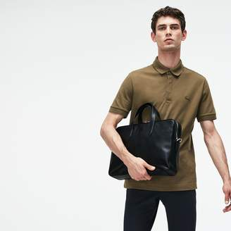 Lacoste Men's L.12.12 Business Leather Computer Bag