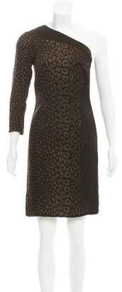 Gucci One-Shoulder Silk Mini Dress w/ Tags