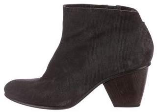 Coclico Suede Round-Toe Ankle Boots