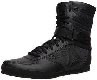 Reebok Men's Boxing Boot- Lx Cross Trainer Black/White