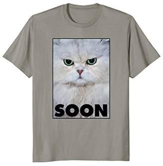 Ripple Junction Soon White Cat T-Shirt