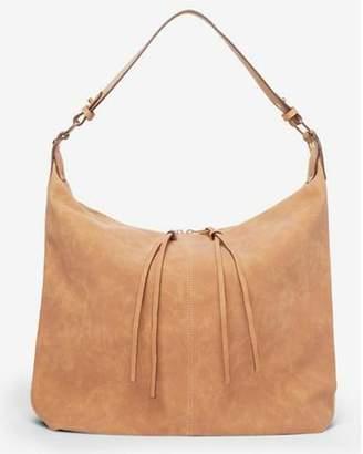 Dorothy Perkins Womens Tan Double Zip Hobo Bag
