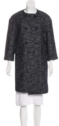 Eleventy Wool-Blend Knee-Length Coat