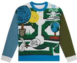 Burberry Garden Maze Sweatshirt