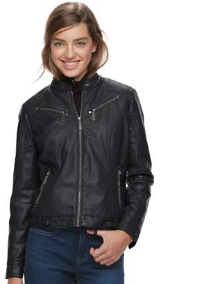 Moto J 2 Juniors' J-2 Faux-Leather Jacket
