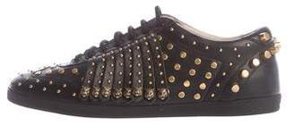 Gucci Studded Tiger Sneakers