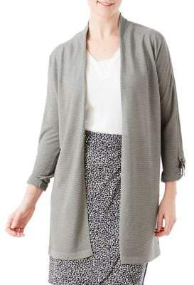 Olsen Casual Coast Tied Long Cardigan
