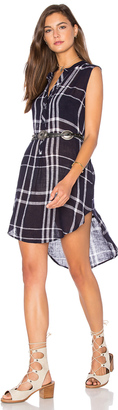 Rails Jules Linen Blend Dress $148 thestylecure.com