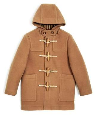 Burberry Boys' Burford Wool Duffel Coat - Little Kid, Big Kid