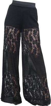 Hanita Wide-leg Lace Pants